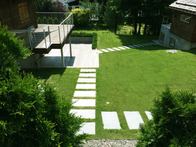 Entreprise hyvert paysagiste cr ation entretien espace for Creation espace vert